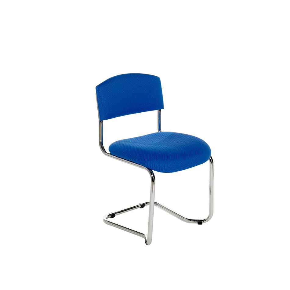 NOE Chrome Cantilever Side Chair