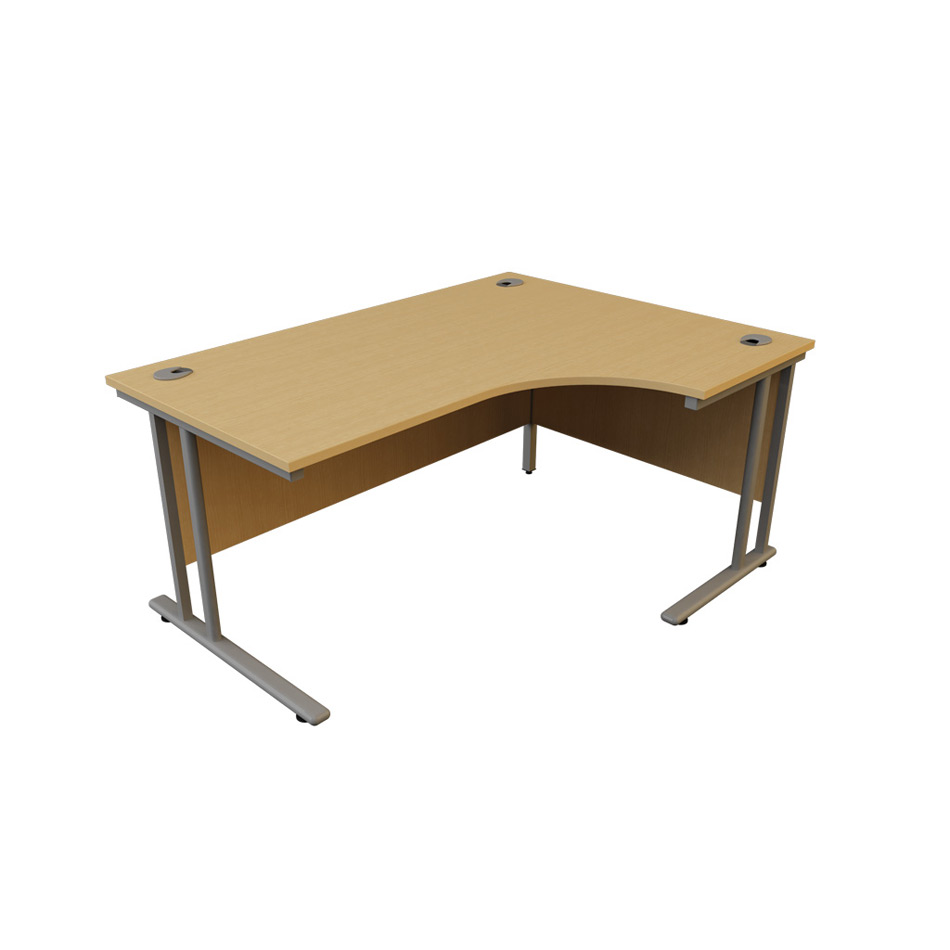 Hawk J Shape Desk