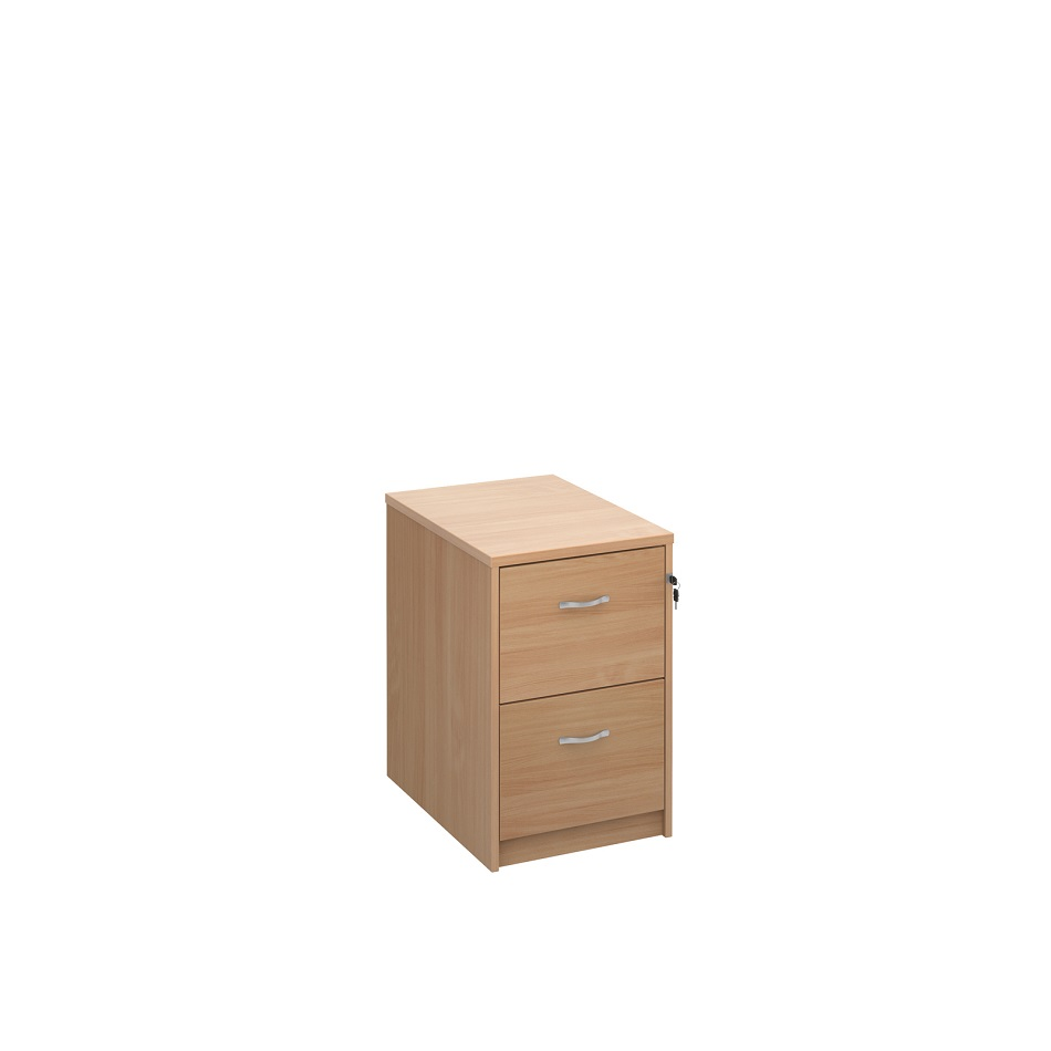 Ex Display NOE 2 Drawer Filing Cabinet Beech